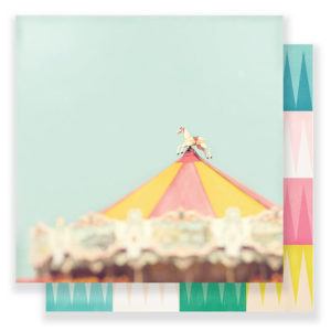 Лист Magical Carousel от Crate Paper, артикул 379089