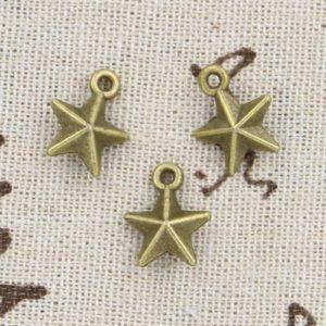 Металлическая подвеска Армейская звезда