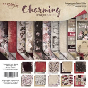 Набор Charming (Очарование) от Scrapmir 20х20 см для скрапбукинга, артикул SM3300016