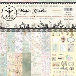 Набор бумаги Magic Garden Bee Shabby 30х30, артикул 550220