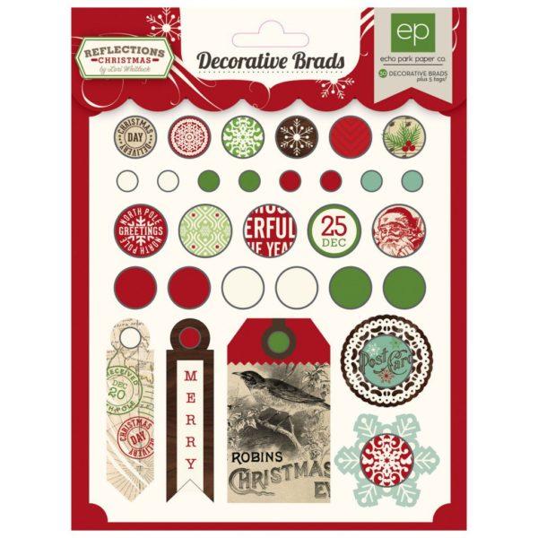 Набор брадсов Reflections Christmas, артикул RC55020