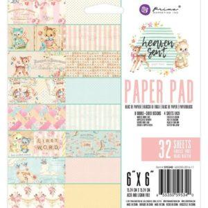 Набор бумаги Heaven Sent 2 от Prima Marketing 15х15