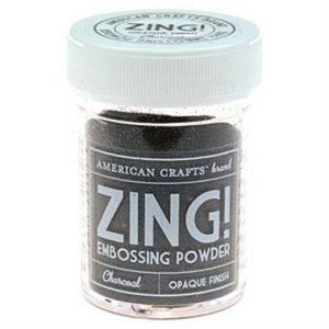 Пудра для эмбоссинга Charcoal Zing! Древесный уголь, артикул 27147
