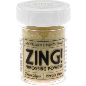 Пудра для эмбоссинга Коричневый сахар ZING, артикул 27139