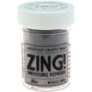 Пудра для эмбоссинга Metallic Silver Zing! Серебро, артикул 27157