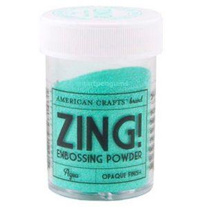 Пудра для эмбоссинга матовая American Crafts ZING Светло-голубой, артикул 27143