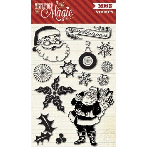 Штампы My Mind's Eye Mistletoe Magic 10*15 см, артикул MM1016