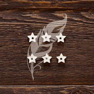 Подложки для анкеров звёздочка для скрапбукинга (артикул: CB487)