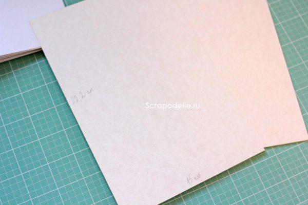 Мягкая обложка для скрапбукинг альбома своими руками, шаг 1