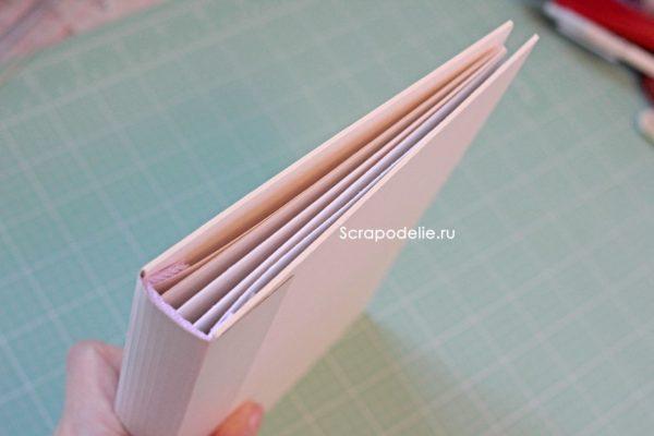Мягкая обложка для скрапбукинг альбома своими руками, шаг 10