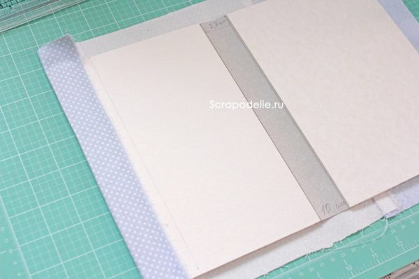 Мягкая обложка для скрапбукинг альбома своими руками, шаг 17