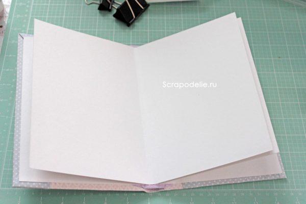 Мягкая обложка для скрапбукинг альбома своими руками, шаг 28